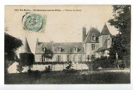 CPSM  18 SAINT GEORGES SUR LA PRE Chateau Du Rosay - Autres Communes