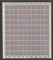 Am-Post-Bogen,Am-Post-Bogen,17aBz,BT.4,mit III,XX,gefaltet (M7) - Bizone