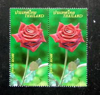 Thailand Stamp 2010 Rose 9th - Thaïlande