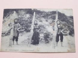 Pécheuses De Crevettes DUNKERQUE ( 71 ) Anno 1912 ( Voir Photo Pour Detail Svp ) !! - Dunkerque