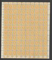 Am-Post-Bogen,20,mit VIII,xx,Ränder Teils Fleckig,VIII Aber Einwandfrei (M7) - Bizone