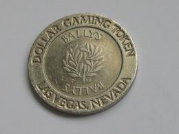 Jeton De Casino - Dollar Gaming Token - Las Vegas Neveda - BALLYS  **** EN ACHAT IMMEDIAT *** - Casino
