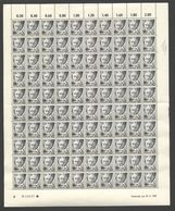 Rheinland-Pfalz,Nr.1,27.9.1947,B (M6) Franz.Zone-Bogen - Französische Zone