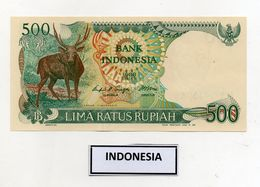 Indonesia - 1988 - Banconota Da 500 Rupie - Nuova - (FDC8061) - Indonésie