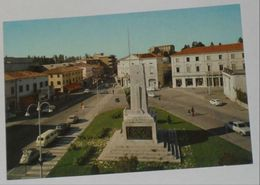 TREVISO - Montebelluna - Piazza Garibaldi E Corso Mazzini - Auto - Treviso
