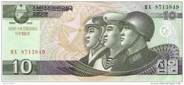 North Korea - Pick New - 10 Won 2002 - 2009 - Unc - Commemorative - Corea Del Nord