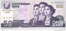 North Korea - Pick New - 50 Won 2002 - 2009 - Unc - Commemorative - Corea Del Nord