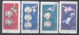 1970  Serie Yt Nr 1748/51 Soyuz Astronaut - Gebraucht