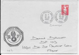 1992 - GUERRE EX-YOUGOSLAVIE - LETTRE GENDARMERIE Du BPM 652 BELGRADE (SERBIE)=> BOURG ST MAURICE (SAVOIE) - Marcophilie (Lettres)