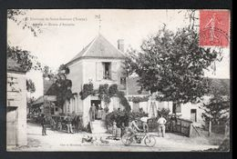 89, Environs De Saint Sauveur, Levis, Route D'Auxerre - France
