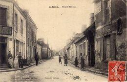 72)   LA   SUZE     -   Rue   Saint    Nicolas - La Suze Sur Sarthe