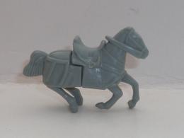 KINDER, CHEVAL GRIS - Figurines En Métal