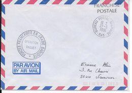 1991 - IRAK :OPERATION DAGUET GUERRE DU GOLFE- LETTRE Du BPM N°645 Des FORCES FRANCAISES En ARABIE SAOUDITE =>VIGNEULLES - Military Postmarks From 1900 (out Of Wars Periods)