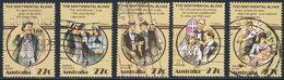 """Australie - Folklore Australien (II) : """"Le Voyou Sentimental"""" 835/839 Oblit. - 1980-89 Elizabeth II"""