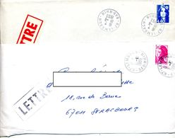 Lettre Cachet Lembach 2 Types - Postmark Collection (Covers)