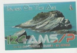 Qsl Italie - Del Tinetto Island - Radio Amatoriale