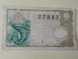 Lotteria Nazionale Spagnola  1942 - Spain