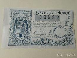 Lotteria Nazionale Spagnola  1943 - Spain