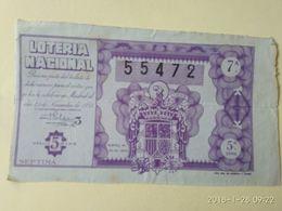 Lotteria Nazionale Spagnola  194 - Non Classificati
