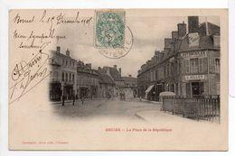 - CPA DECIZE (58) - La Place De La République 1905 (AUTOMOBILES L. MILLET) - Photo-Edition Desvignes - - Decize