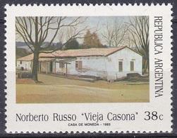 Argentinien Argentina 1993 Kunst Kultur Gemälde Paintings Künstler Artists Maler Painters Norberto Russo, Mi. 2180 ** - Argentinien