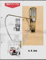 Feuillet Publicitaire Distributeur D' Essence H. BOUTILLON A.R. 266 (92 Suresnes) Avec Descriptif * Voiture Auto Pompe à - Automobile
