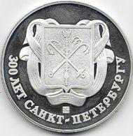RUSSIE - Médaille En Argent 925/1000 - Tokens & Medals