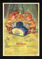 Buvard PELIKAN Num.640. Encre, Gnomes (Ref. 99696) - Blotters