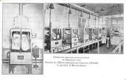 Exposition Maritime Internationale De Bordeaux (33) 1907 - Pavillon De L'OEuvre Des Couveuses D'Enfants - Bordeaux