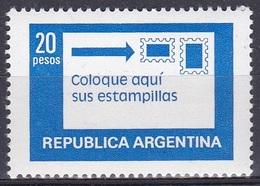 Argentinien Argentina 1978 Postwesen Postdienst Postal Service Frankierung Franking, Mi. 1362 ** - Argentinien