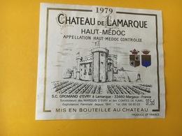 6770 - Château De Lamarque 1979 Haut-Médoc 37.5cl - Bordeaux