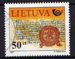 Litauen / Lietuva, 1997,  Mi 651, Gestempelt [290118XXII] - Lituania