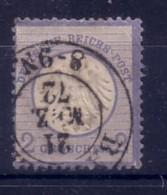 GERMANIA  IMPERO - DEUTSCH REICH  - 1872 FRANCOBOLLO DA 2 GROSCHEN  USATO . - Allemagne