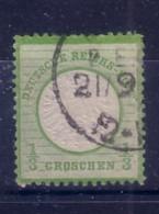 GERMANIA  IMPERO - DEUTSCH REICH  - 1872 FRANCOBOLLO DA 1/3 DI GROSCHEN  USATO  2°TIPO - Allemagne
