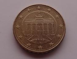 N. 41 ERRORE EURO !!! 10 CT. 2002 G GERMANIA DOPPIO BORDO !!! - Varietà E Curiosità