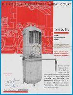 Feuillet Publicitaire Distributeur D' Essence SIAM S.I.A.M.Type D.11. (2 Modèles) * Voiture Auto Pompe à - Automobile