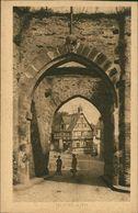 AK Rhens, Tor, Um 1920 (28770) - Allemagne