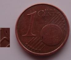 N. 35 ERRORE EURO !!! 1 CT. 2002 ITALIA ESUBERO SUL GLOBO !!! - Errores Y Curiosidades