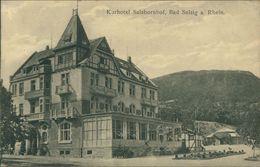 AK Boppard Bad Salzig, Kurhotel Salzbornhof, Um 1918 (28774) - Boppard
