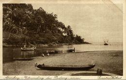 Apenberg Uitmonding Den Padang Rivier      INDONESIE INDONESIA. - Indonesia