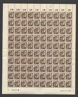 Rheinland-Pfalz,Nr.2,3.3.1948,A,,gefaltet (M6) Franz.Zone-Bogen - Französische Zone