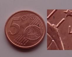 N. 15 ERRORE EURO !!! 5 CT. 2013 ITALIA ESUBERO SUL GLOBO !!! - Abarten Und Kuriositäten