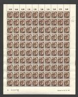 Rheinland-Pfalz,Nr.2,10.10.1947,B,gefaltet (M6) Franz.Zone-Bogen - Französische Zone