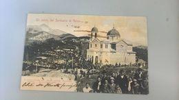 CARTOLINA UN SALUTO DAL SANTUARIO DI VELVA - Genova (Genoa)