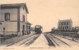 77 - Seine Et Marne / Montigny Lencoup - 775552 - La Gare - Beau Cliché - Other Municipalities