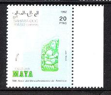 Sahara Occ. - 1992.  Arte Maya: Giada Artistica. Maya Art: Artistic Jade. MNH - Archeologia