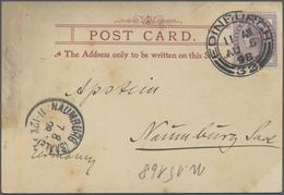 Br Thematik: Antarktis / Antarctic: 1898: German Valdivia Deap-Sea-Expedition. Post Card From Edinburgh - Other