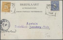 Br Thematik: Antarktis / Antarctic: 1899: Deutsche Valdivia Tiefsee-Expedition. Postkarte Aus Emmahafen - Other