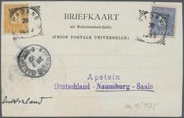Br Thematik: Antarktis / Antarctic: 1899: Deutsche Valdivia Tiefsee-Expedidition. Postkarte Aus Emmahaf - Polar Philately
