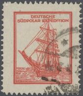 Thematik: Antarktis / Antarctic: Deutsche Südpolar Expedition 1911/12, Rote Werbemarke Mit Darstellu - Polar Philately